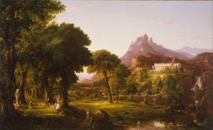 Dream of Arcadia, Thomas Cole (1801 – 1848), 1838 (ca); Denver (Colorado), Denver Art Museum