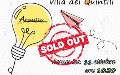 """Appia family – Villa dei Quintili"" – evento SOLD OUT"